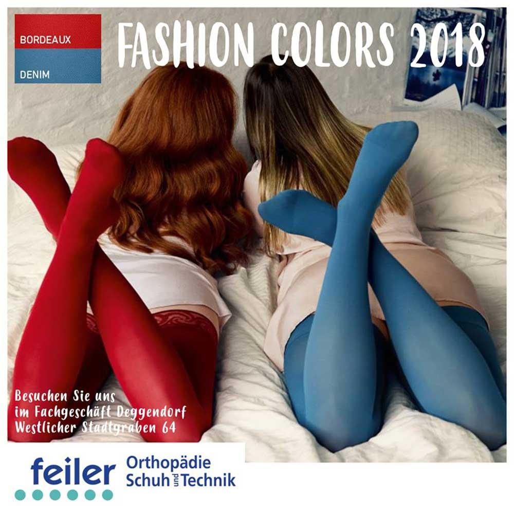 "alt ""fashion colors 2018 bauerfeind Kompressionsstrümpfe"""